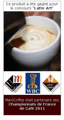 moulin à café championnat latte art