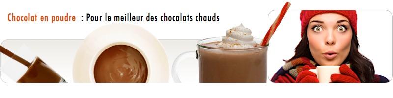 Chocolat en poudre monbana - pour chocolat chaud