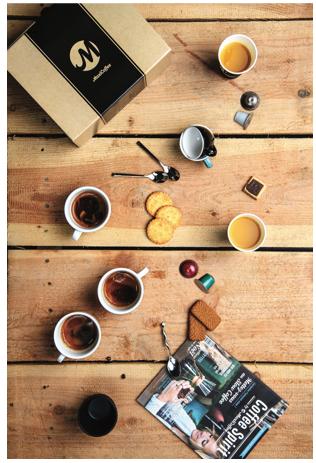 coffret découverte capsules compatibles nespresso