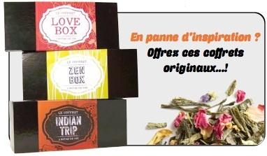 Coffret Indian trip Comptoir Français du thé