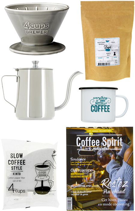coffret café dripper