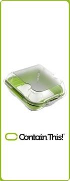 boite isotherme verte pour sandwich