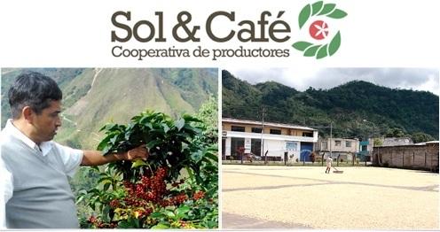 café vert pérou coopérative sol&café