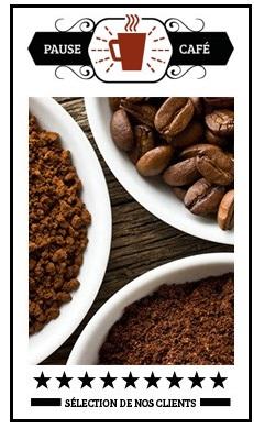 pack coup de coeur client café grains
