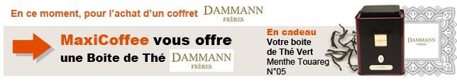 boite de thé collection Dammann offerte
