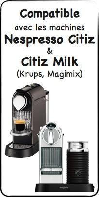 d tartrant pour nespresso citiz et citiz milk. Black Bedroom Furniture Sets. Home Design Ideas