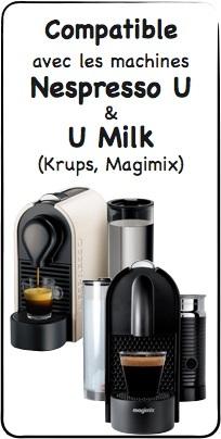 d tartrant pour nespresso u et u milk x2 testeur. Black Bedroom Furniture Sets. Home Design Ideas
