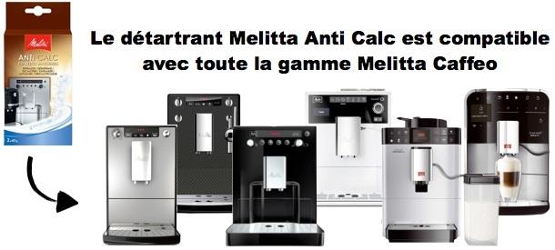 melitta anti calc pour machine melitta