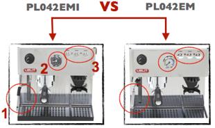 Machine expresso Lelit PL042EM et PL042EMI