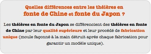 theiere fonte japon