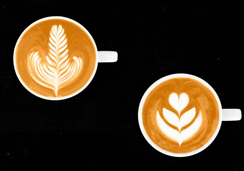 niveau blanc Latte Art Grading System