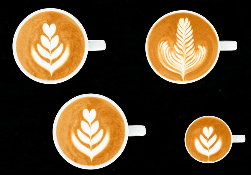 niveau orange Latte Art Grading System