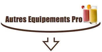 tout l'équipement pro