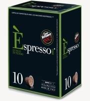 capsule espresso intenso caffe vergnano compatibles nespresso