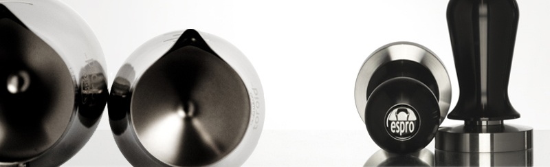 Espro : mug travel press, cafetière à piston, tamper, pichets à lait