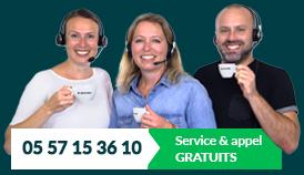 Customer service 05 57 15 36 10