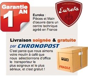garantie eureka pro