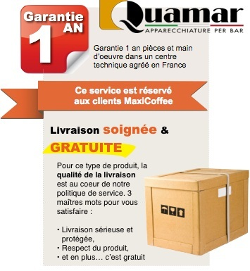 garantie 1 an quamar