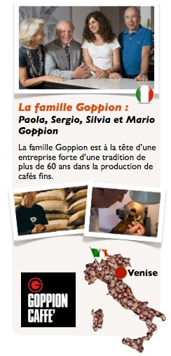 café en grains Bio Nativo 1kg Goppion Caffe
