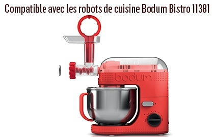 hachoir viande 11514 10 pour robot de cuisine bodum bistro 11381. Black Bedroom Furniture Sets. Home Design Ideas