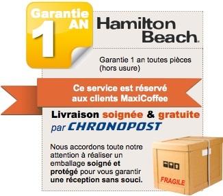 Hamilton Beach - TANGO - HBB250
