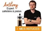 expert cafetière à piston