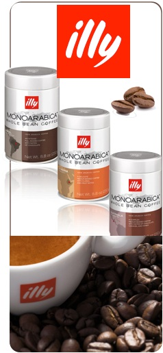 cafés en grains illy monoarabica