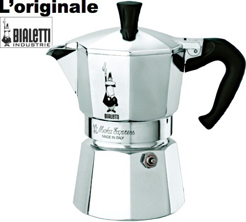 Cafeti re italienne bialetti moka express 3 tasses - Comment fonctionne cafetiere italienne ...