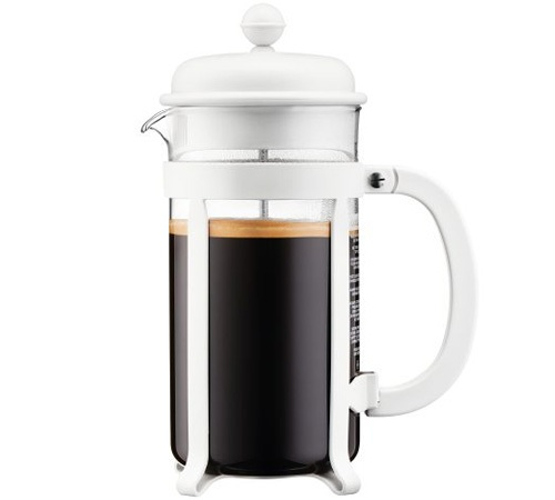 Cafeti re piston bodum java blanc cr me 1l - Cafetiere a piston avis ...