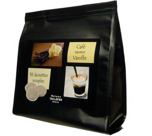 dosettes caf aromatis la vanille x 16 maison taillefer. Black Bedroom Furniture Sets. Home Design Ideas