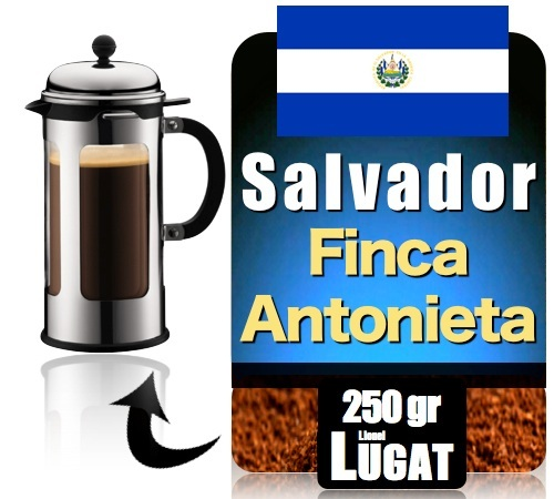 Caf moulu pour cafeti re piston maragogype salvador - Cafe pour cafetiere a piston ...