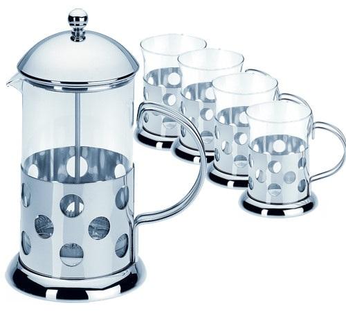 Cafeti re piston french press bulle 1 litre 4 mugs - Quel cafe pour cafetiere a piston ...