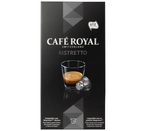 Café Royal - Capsules Ristretto x 10 pour Nespresso