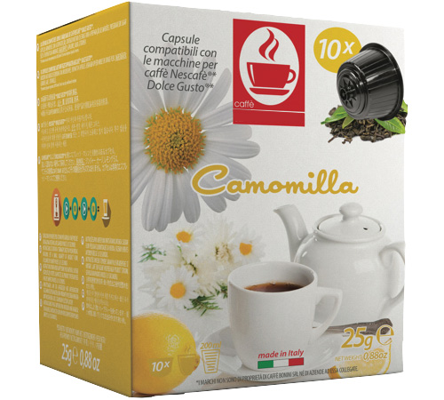 10 capsules dolce gusto compatibles camomille. Black Bedroom Furniture Sets. Home Design Ideas