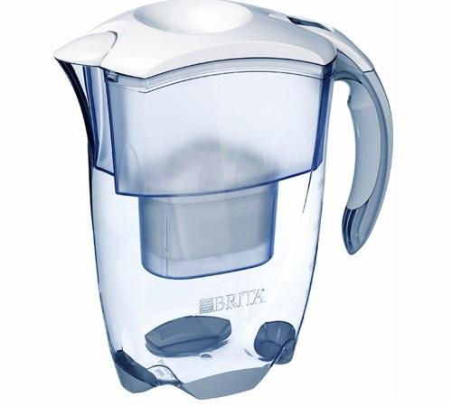 Carafe brita filtrante elmaris cool blanche 2 4 l - Carafe filtrante brita ...