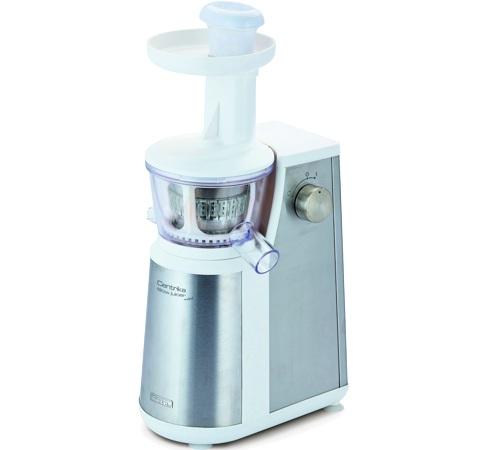 Eco Slow Juicer Oxone : Extracteur de jus Ariete Centrika Slow Juicer mEtal