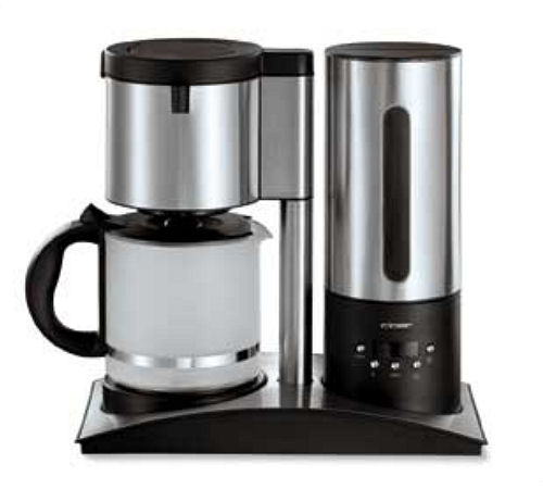cafeti re filtre programmable cloer prestige 10 tasses. Black Bedroom Furniture Sets. Home Design Ideas
