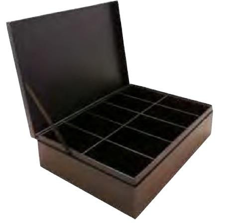 coffret th vide cartonn 100 sachets comptoir fran ais du th. Black Bedroom Furniture Sets. Home Design Ideas