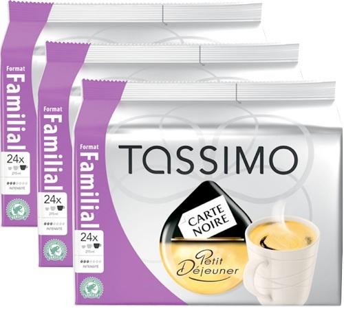 capsule tassimo carte noire petit d jeuner 72 t discs. Black Bedroom Furniture Sets. Home Design Ideas