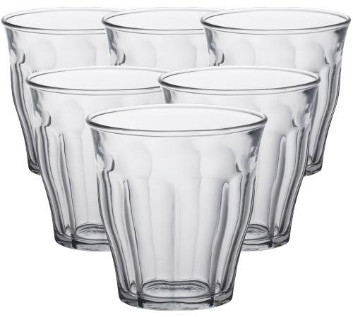 6 verres caf duralex picardie 22cl - Verre picardie duralex ...
