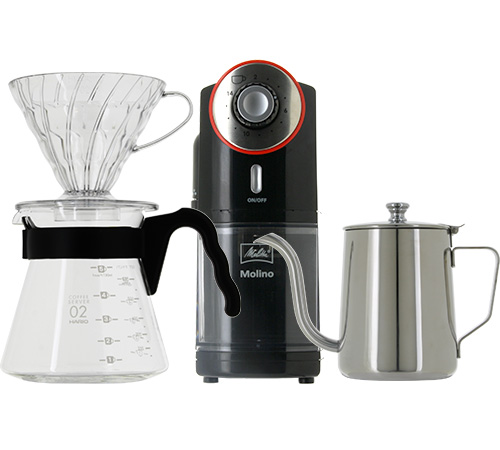Kit hario v60 moulin verseuse - Moulin a cafe melitta ...