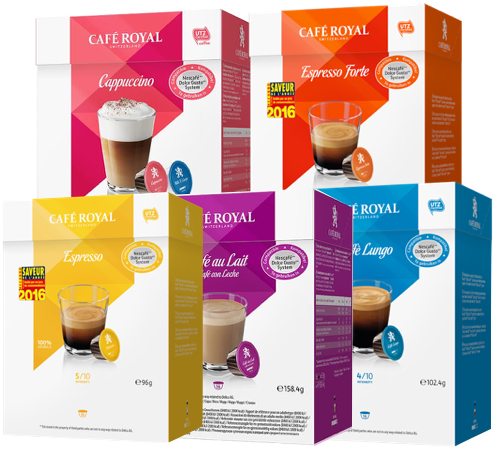 Cafe Royal Capsules Compatibles Avec Dolce Gusto