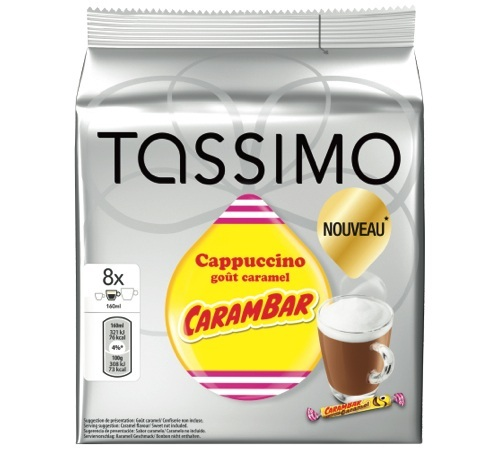 capsule tassimo carambar 8 t discs. Black Bedroom Furniture Sets. Home Design Ideas