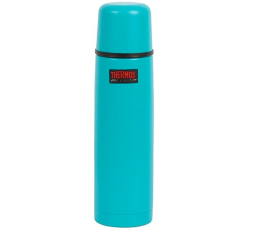 bouteille thermos light compact thermax isotherme inox turquoise 75cl. Black Bedroom Furniture Sets. Home Design Ideas