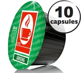 Capsules Dolce Gusto� compatibles Ginseng  x10