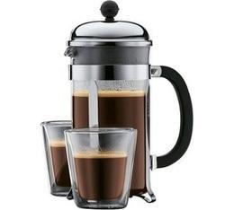 Maxicoffee blog actualit s id e cadeau la cafeti re piston bodum et - Cafetiere moud le cafe ...