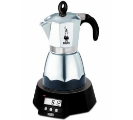 Cafeti�re italienne Bialetti Dama �lectrique programmable - 6 tasses