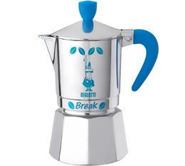 Cafeti�re italienne Bialetti Break bleue 3 tasses