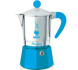 Cafeti�re italienne Bialetti Happy bleu clair - 3 tasses