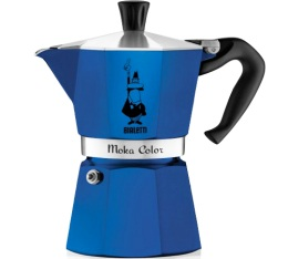 Cafeti�re italienne Bialetti Moka Express Color bleue - 3 tasses